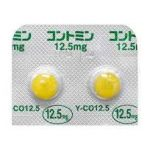 コントミン糖衣錠の効果と太るなどの副作用!半減期や致死量も