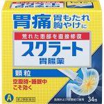 スクラート(胃腸薬)の口コミや効果と副作用!成分や飲み方も